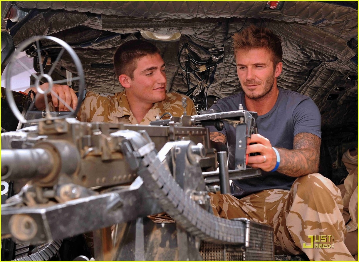 david beckham boosts british troop morale 05