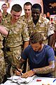 david beckham boosts british troop morale 12