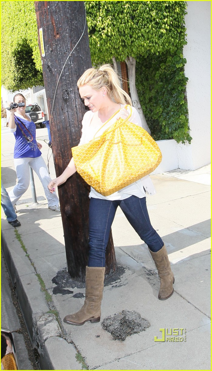 hilary duff yellow fever 08