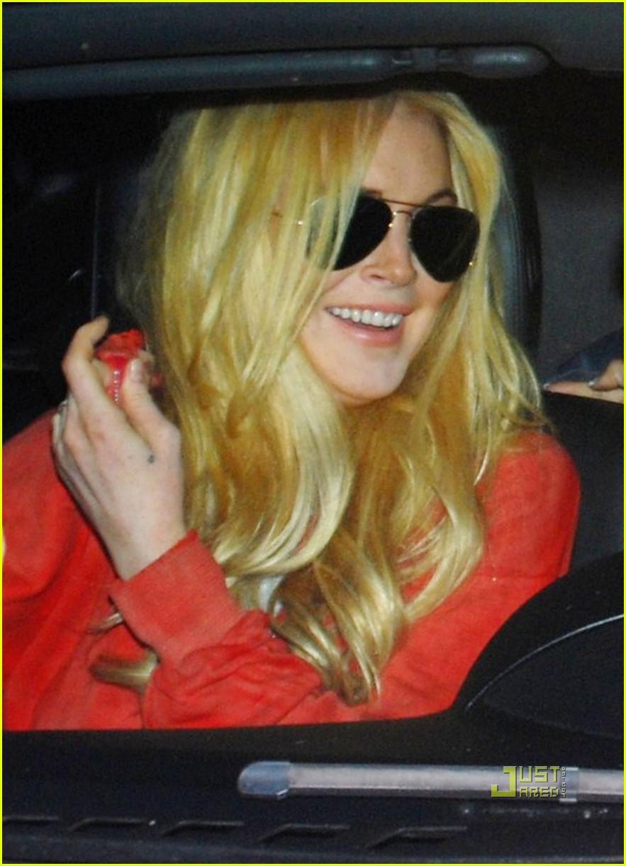 lindsay lohan blonde 132453817