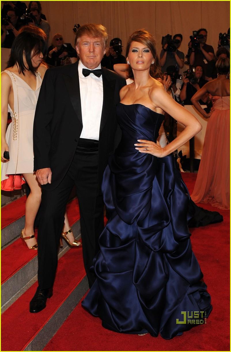 Melania Trump: MET Ball with The Donald!: Photo 2447793 | 2010 MET ...