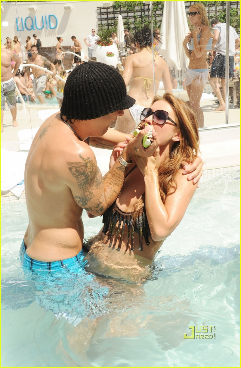 audrina patridge liquid pool birthday 03