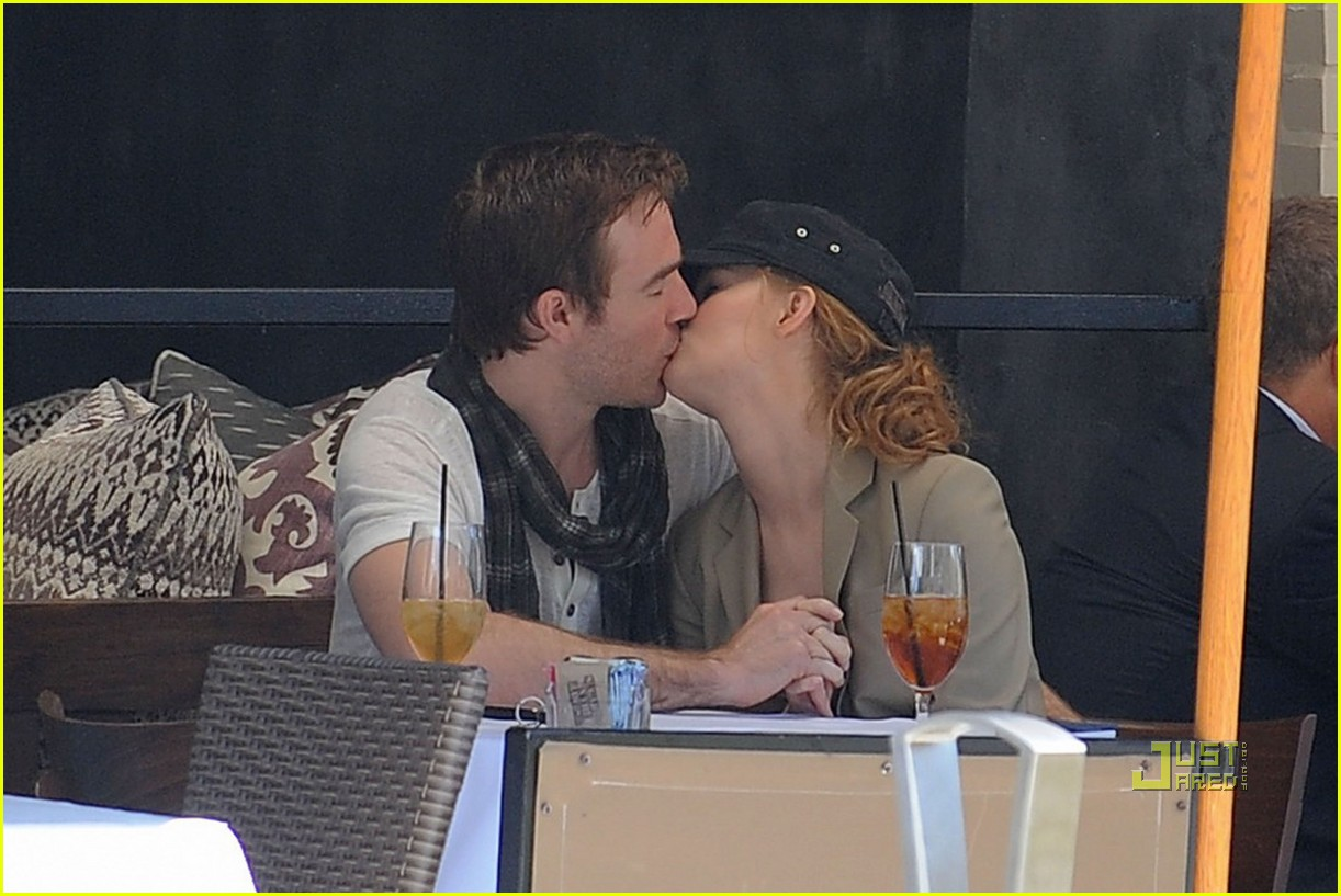 james van der beek kimberly brook kiss lunch 072450688