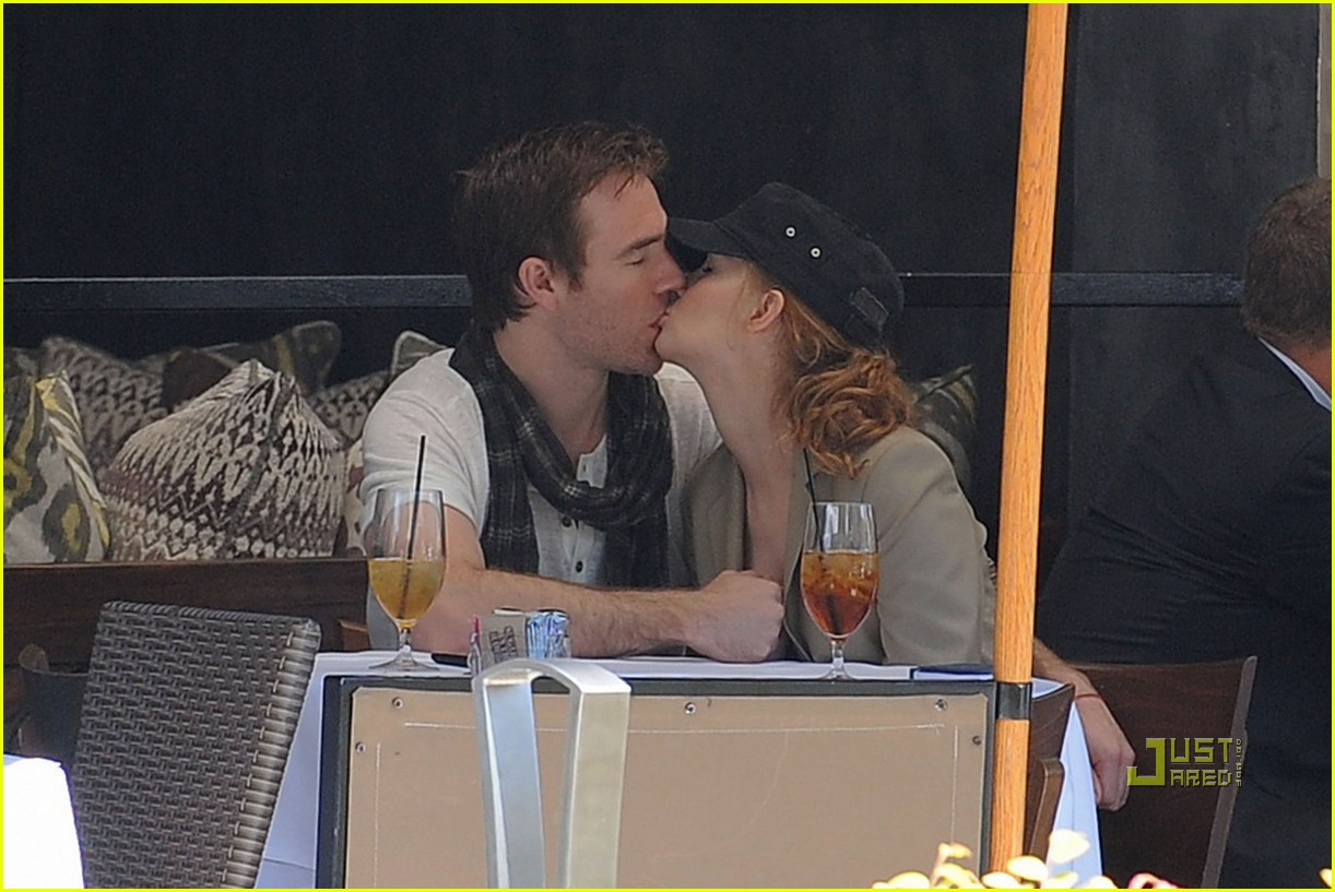 james van der beek kimberly brook kiss lunch 152450696