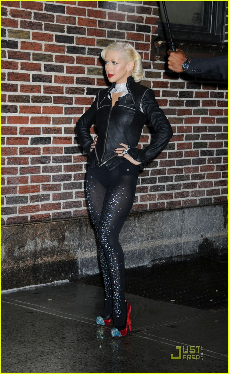 christina aguilera lost letterman 022457639
