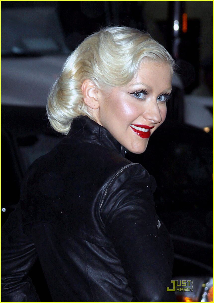 christina aguilera lost letterman 042457641