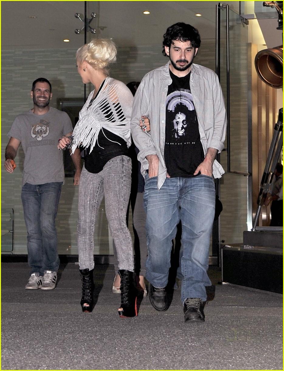 Full Sized Photo of christina aguilera soho house 10 ... Christina Aguilera