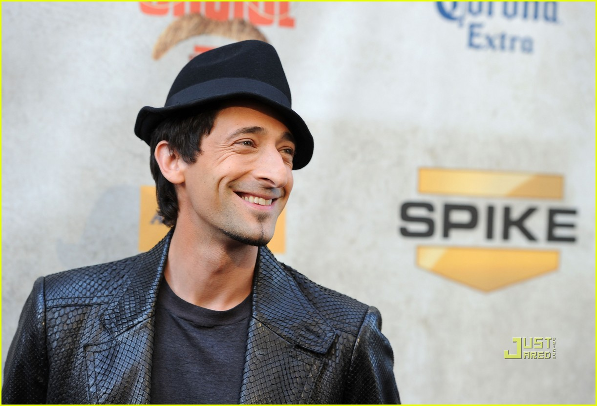adrien brody spike tv guys choice awards bradley cooper a team cast 032456416
