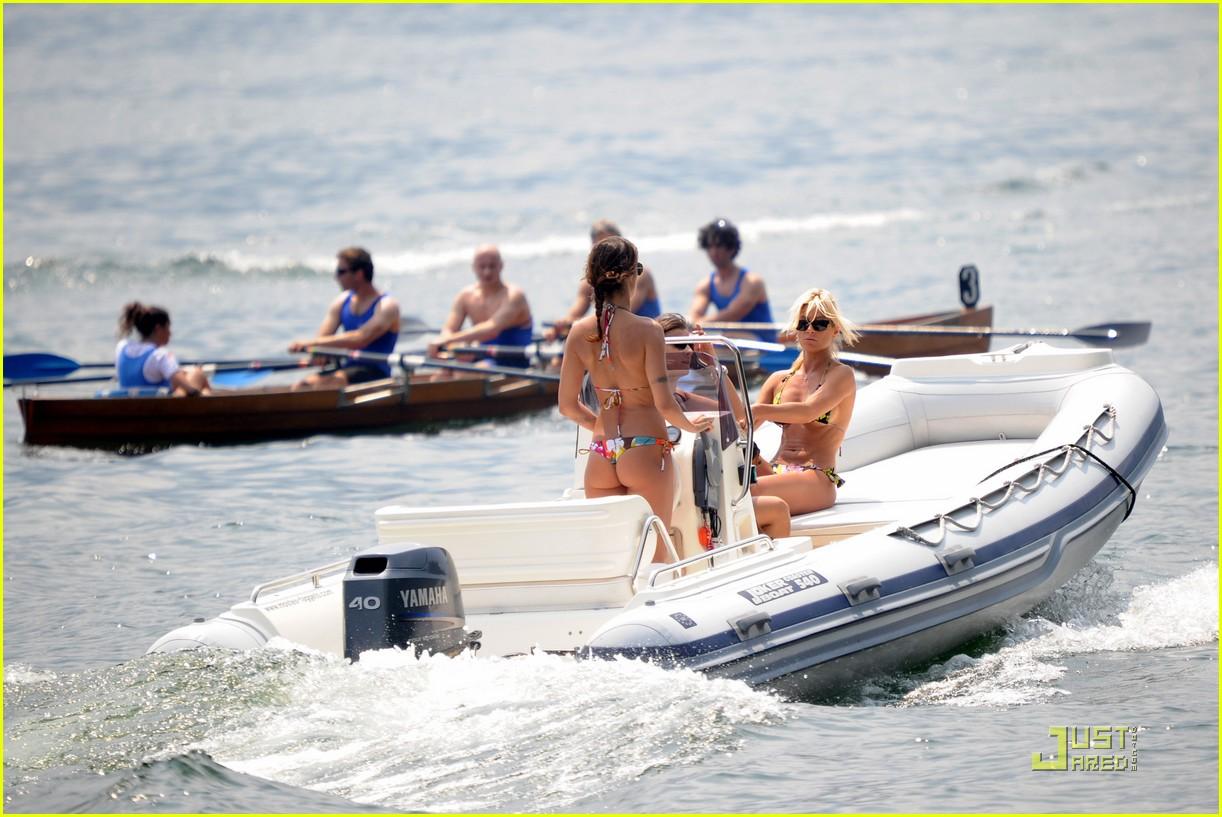 Bikini On Boats