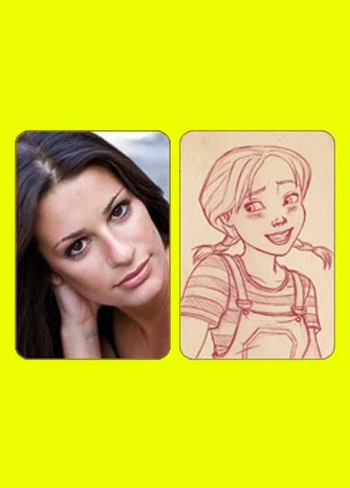 lea michele dorothy of oz character sketches 062459072