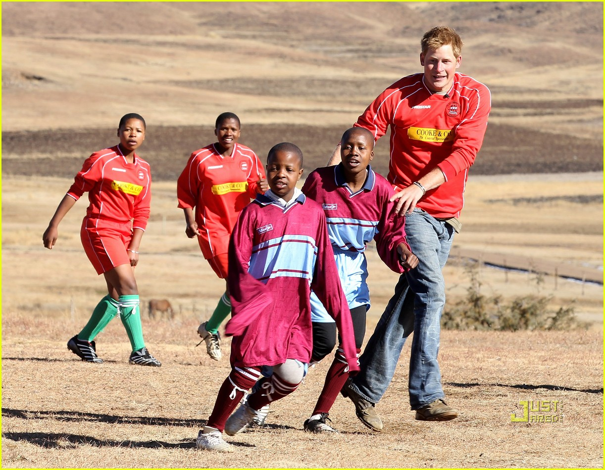 prince harrry lesotho prince william 13