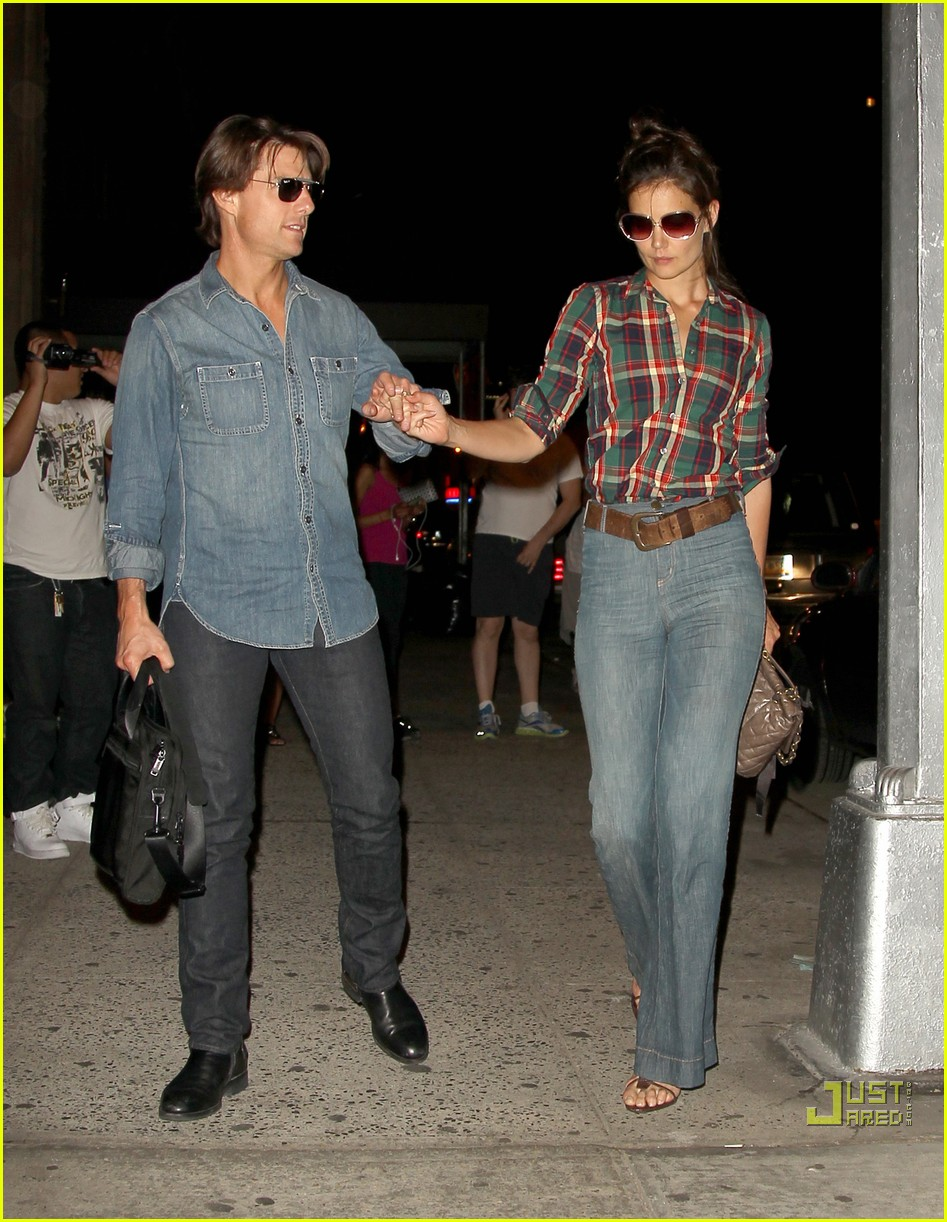 Katie Holmes & Tom Cruise: Dinner Date! Katie Holmes