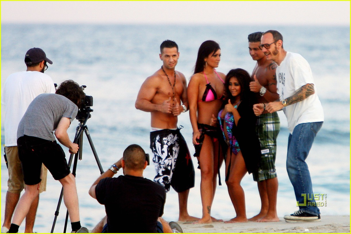 jersey shore cast beach photo shoot 09