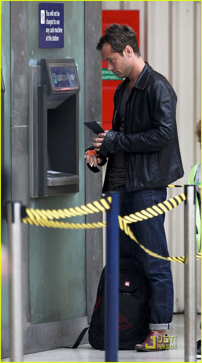jude law is at the atm 022455320