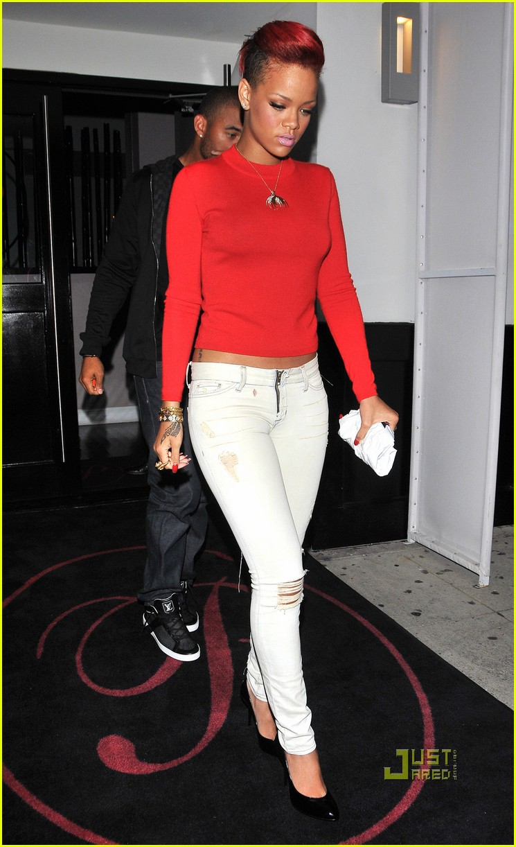 rihanna matt kemp dinner date 05