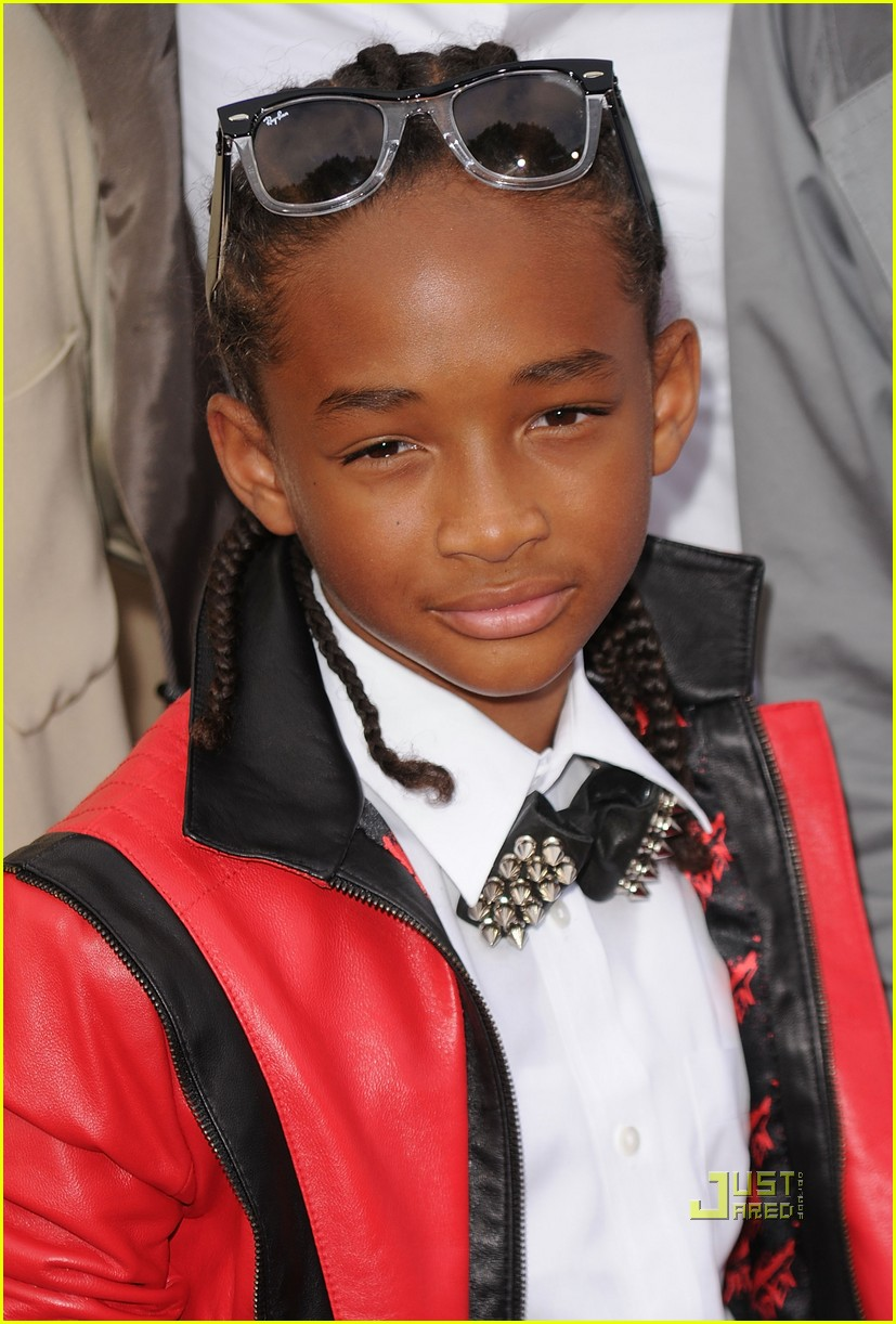 will smith willow jaden jada trey karate kid premiere 13