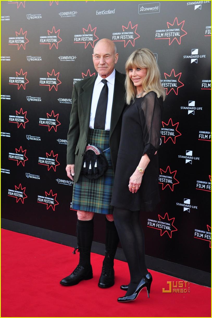 patrick stewart kilt edinburgh film festival 032459454