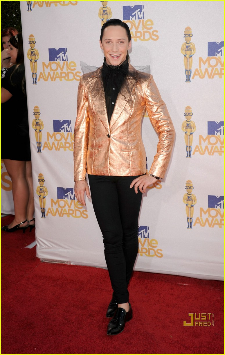 shaun white johnny weir mtv movie awards 2010 052456732