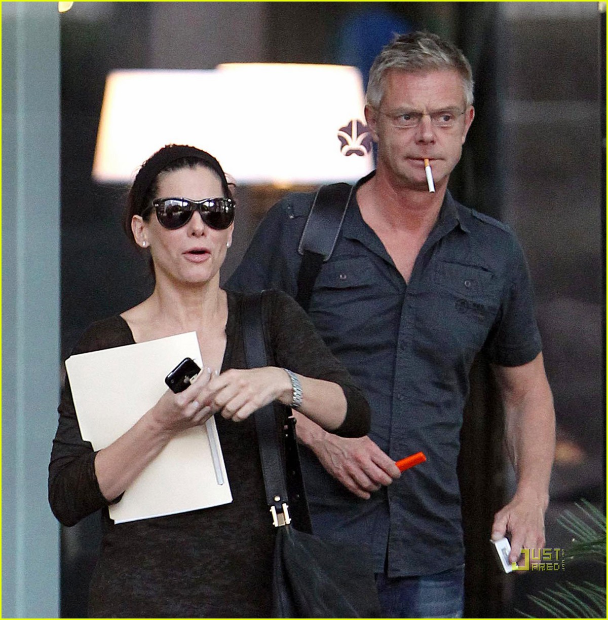 sandra bullock stephen daldry meet austin 06