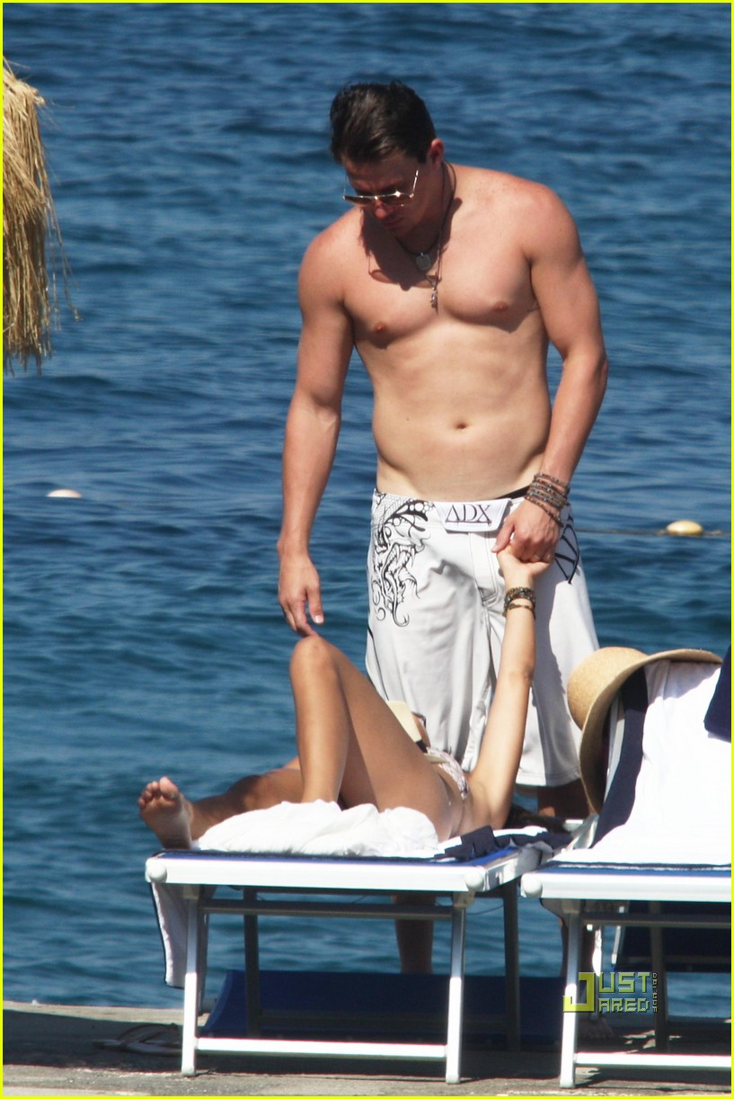 channing tatum jenna dewan kissing 062466637