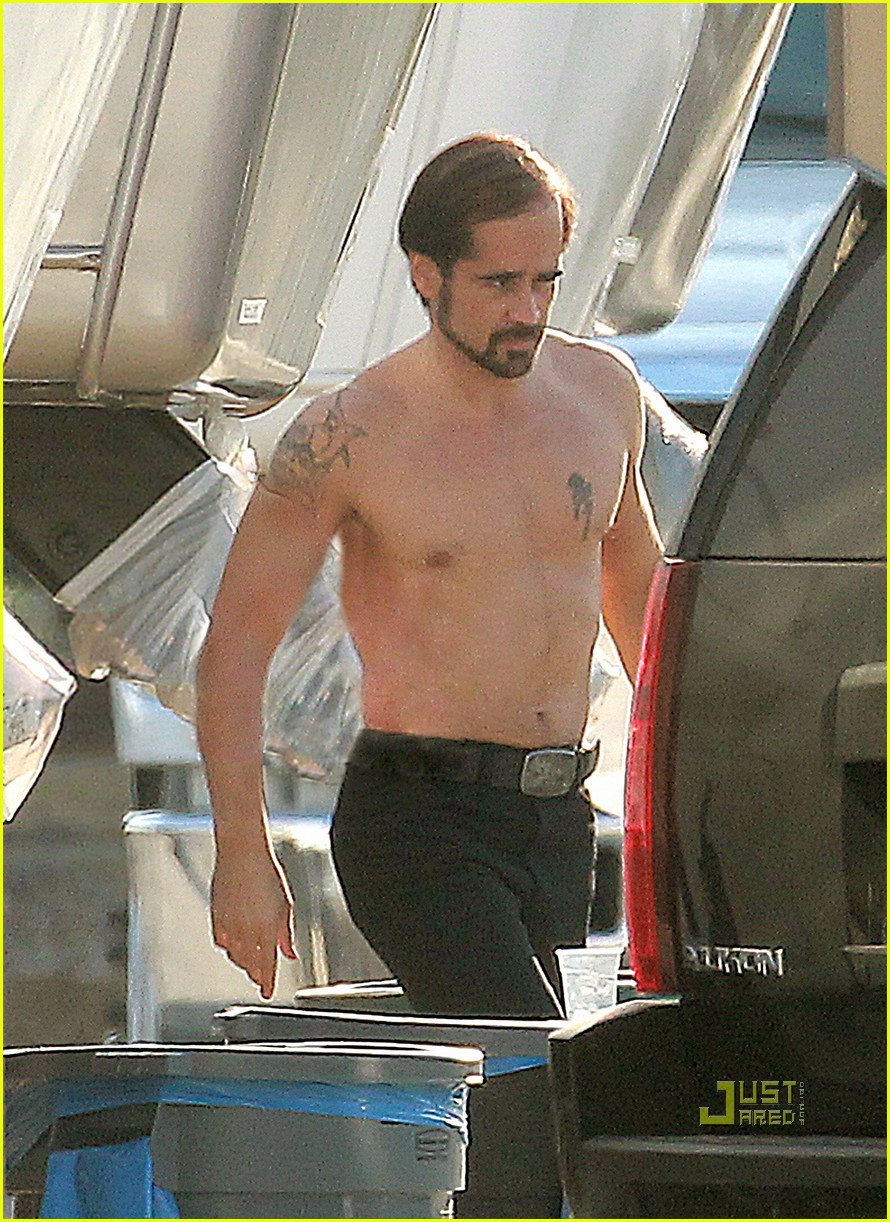 colin farrell shirtless comb over 052465478