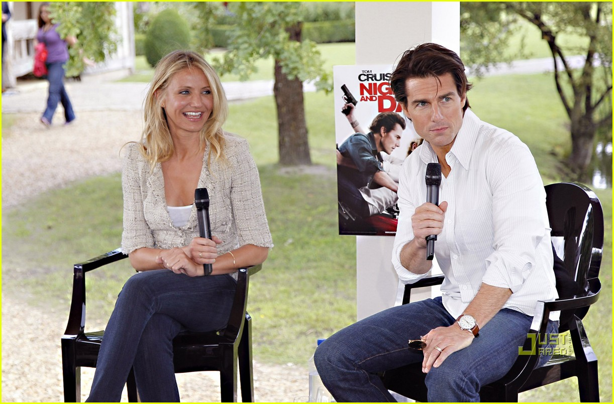 Full Sized Photo of tom cruise cameron diaz martillac ... Tom Cruise