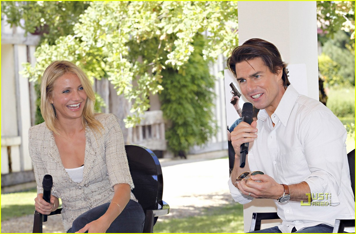 tom cruise cameron diaz martillac france press conference 042468424
