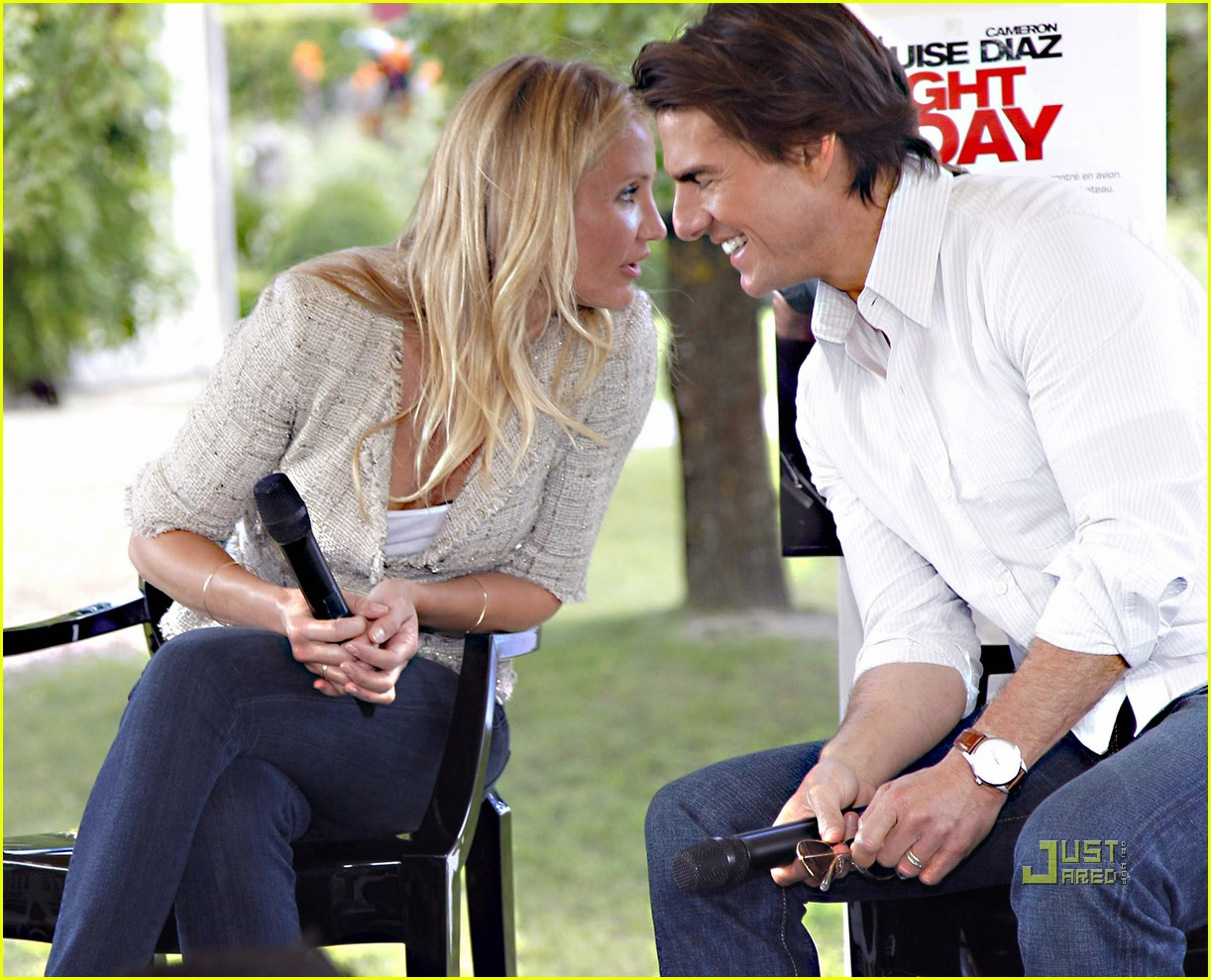 tom cruise cameron diaz martillac france press conference 172468437