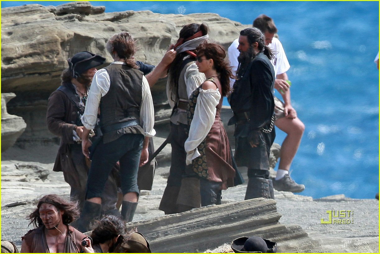 johnny depp penelope cruz pirates 4 oahu 02