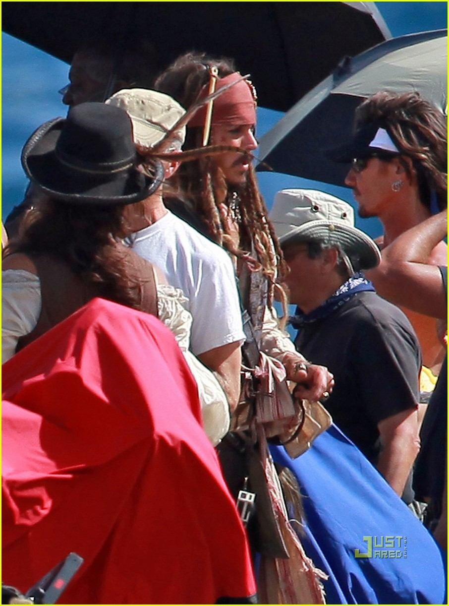 johnny depp penelope cruz pirates 4 oahu 07