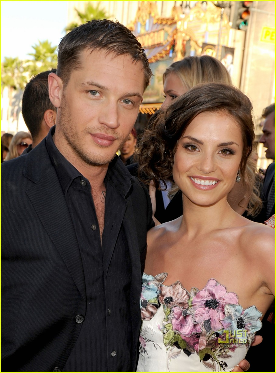 Tom Hardy with beautiful, charming, Fiancée Charlotte Riley