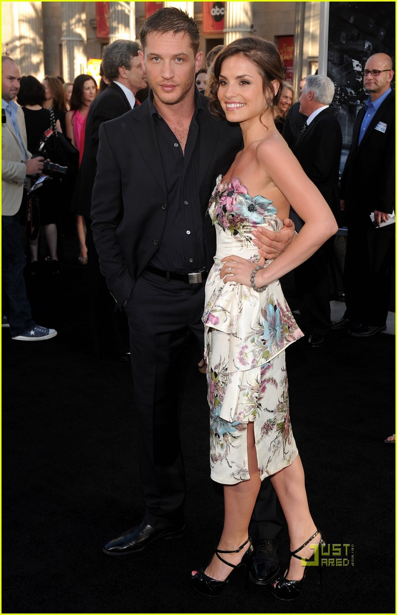 Tom Hardy Inception Premiere With Charlotte Riley Photo 2466057