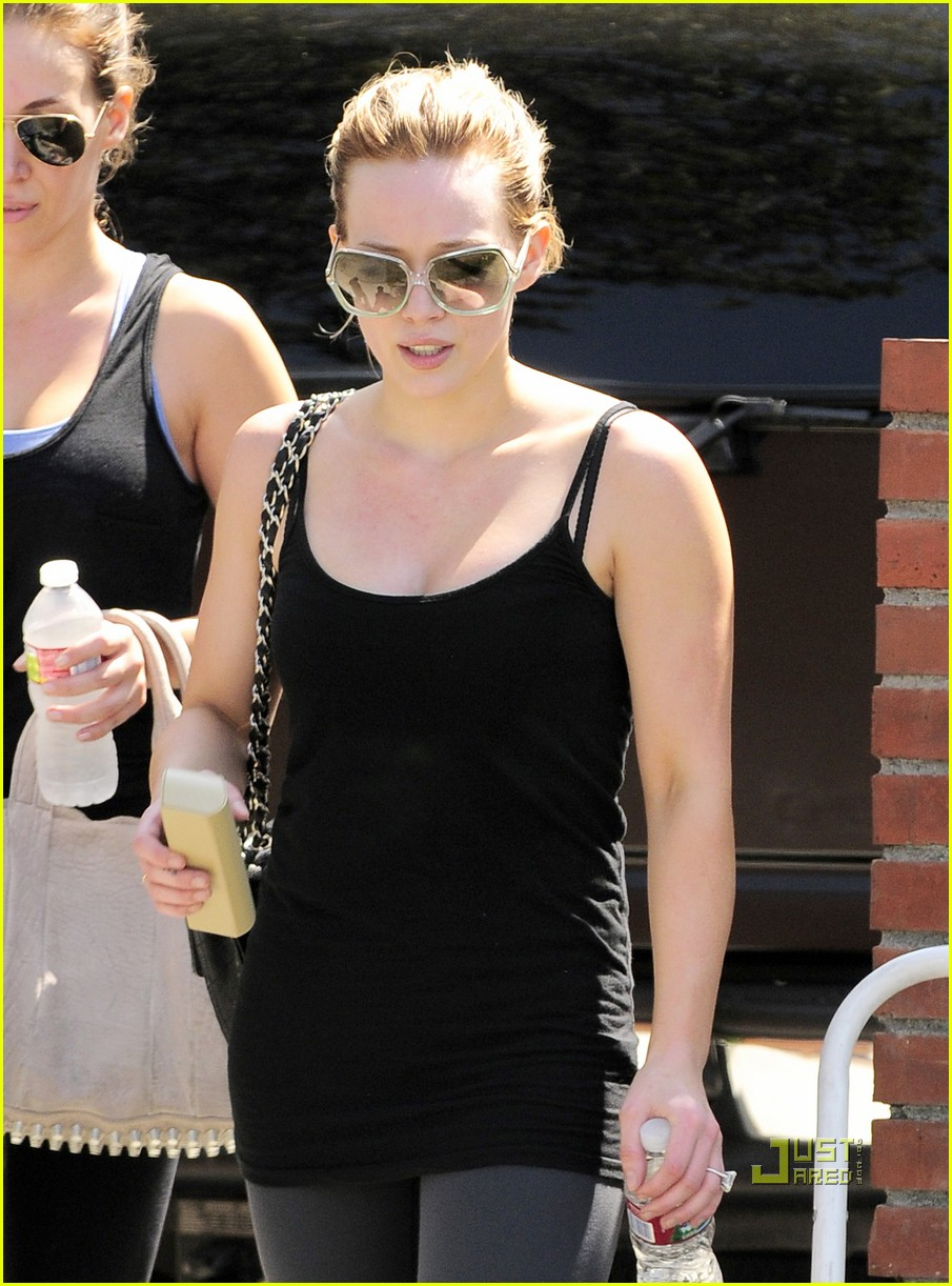 hilary duff haylie gym 09