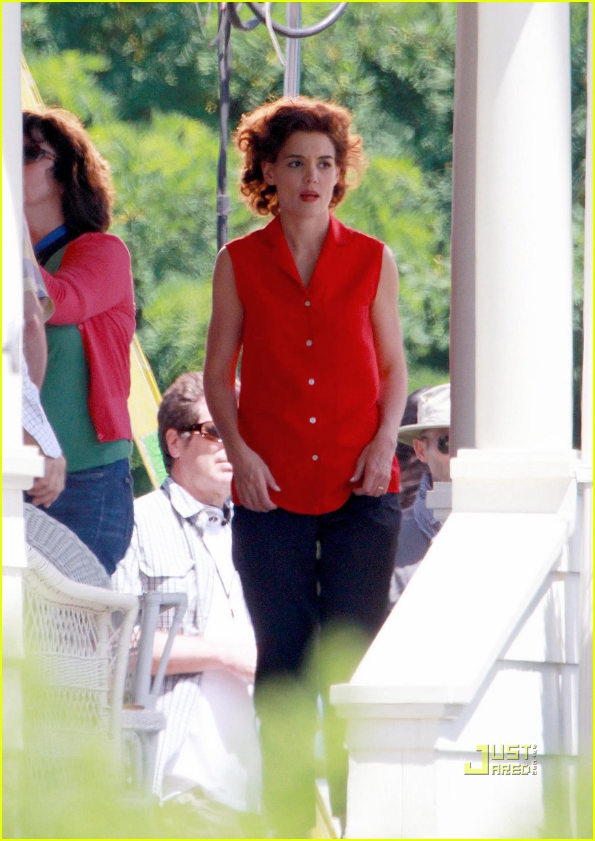 katie holmes the kennedys red top 032467563