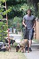 kellan lutz walking dogs grey shirt 06