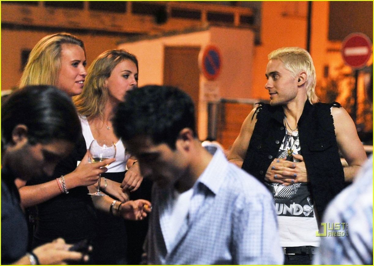 jared leto beach blonde 052466127