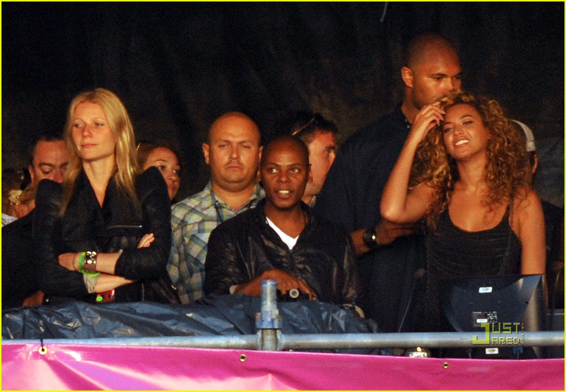 gwyneth paltrow beyonce jay z concert 01