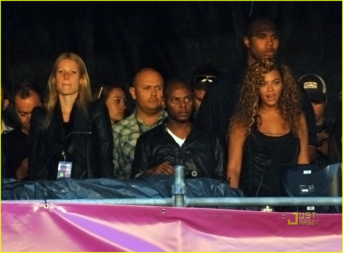 gwyneth paltrow beyonce jay z concert 03