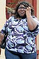 gabourey sidibe phone nyc 02