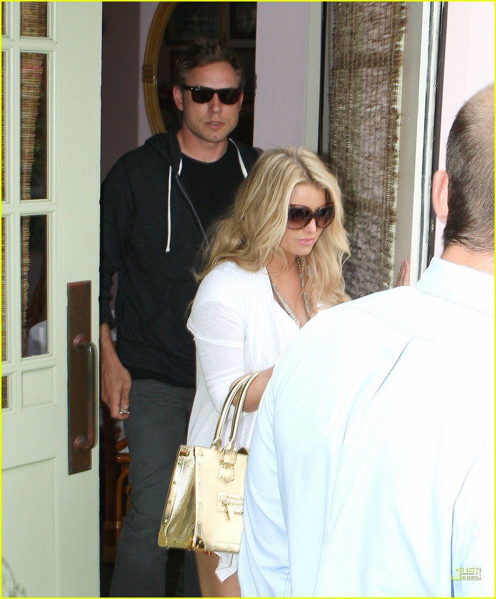jessica simpson eric johnson the ivy 152468208