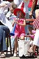 jennifer garner violet affleck seraphina affleck july 4th 09