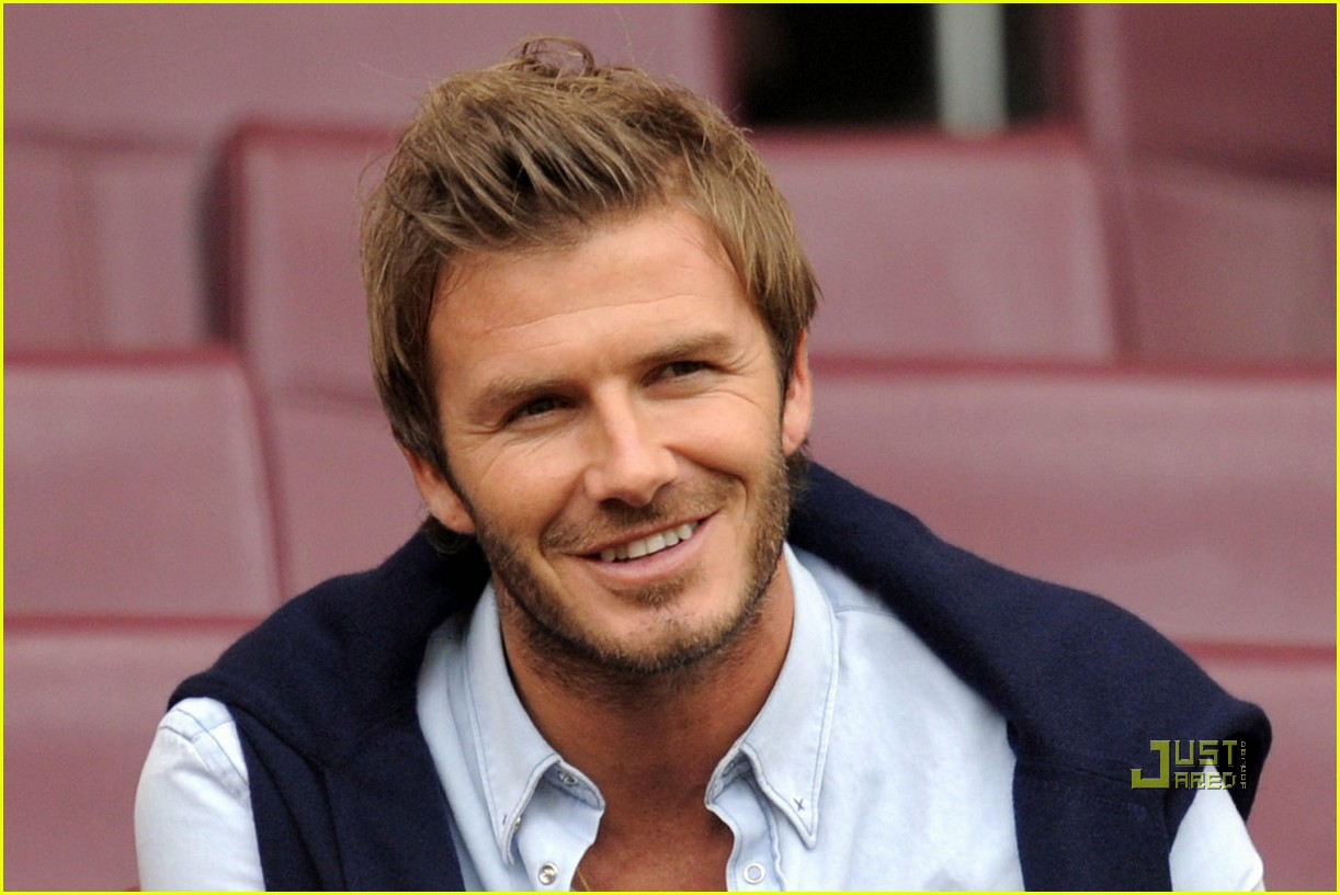 david beckham romeo kiss 022470852