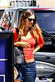rachel bilson red top errands hollywood 01