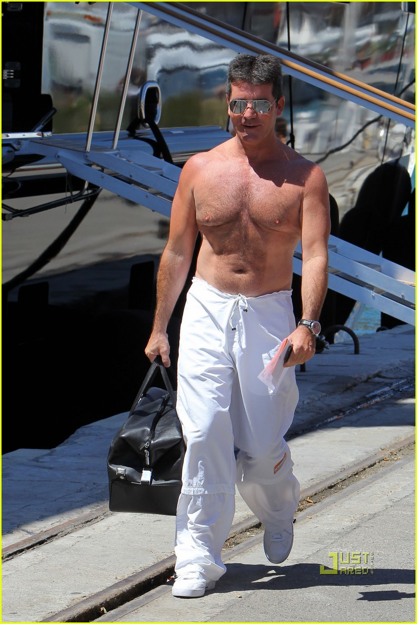 simon cowell chest hair 012471863