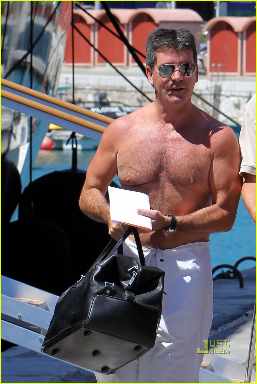 simon cowell chest hair 102471872