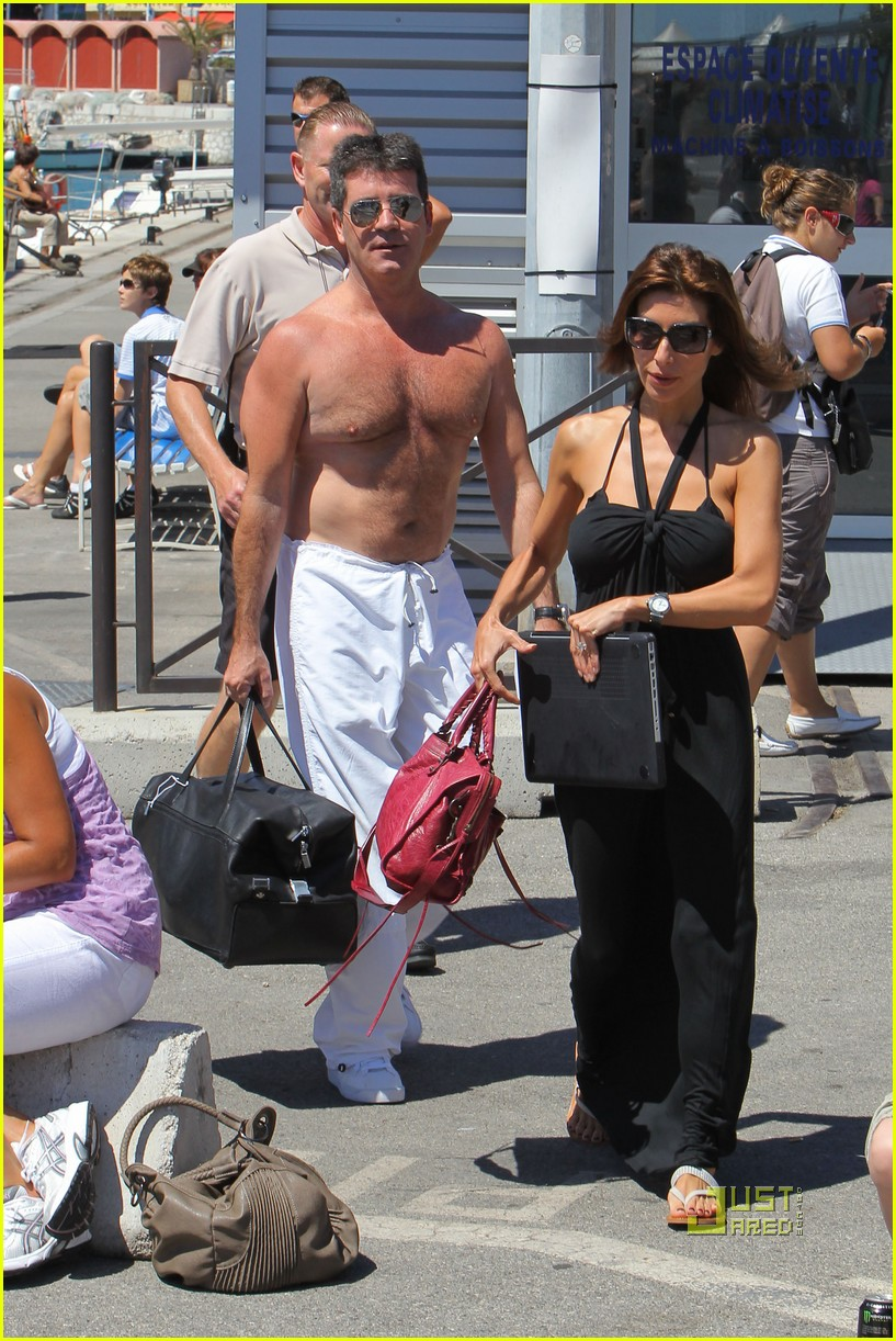 simon cowell chest hair 142471876
