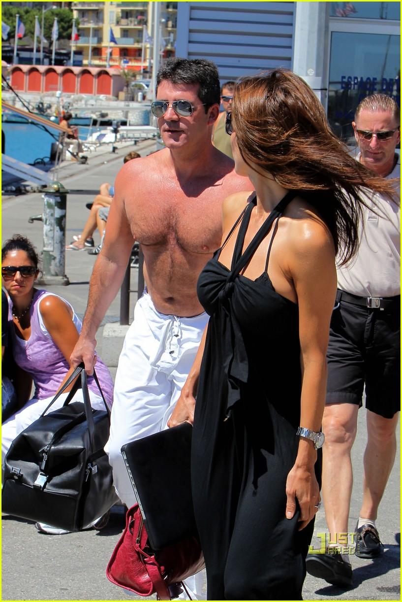 simon cowell chest hair 152471877