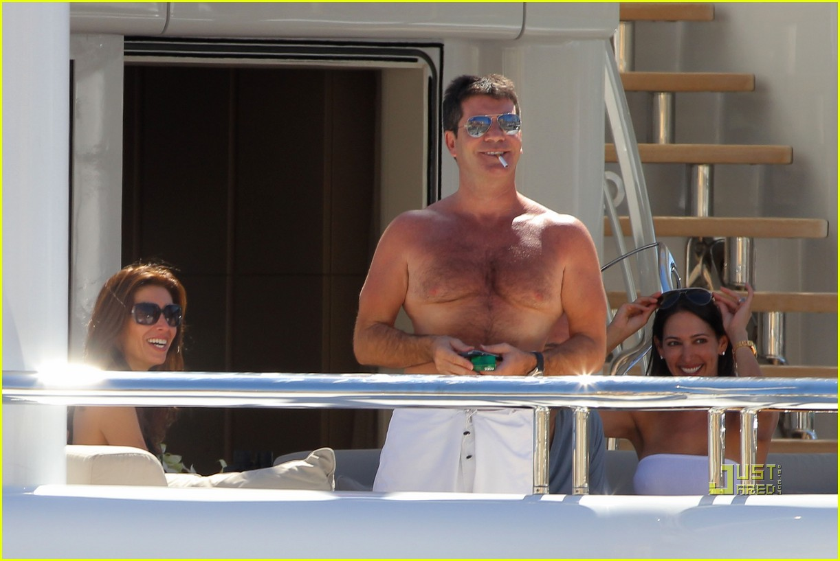 simon cowell chest hair 202471882