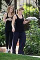 hilary duff errands silverlake food tray 10