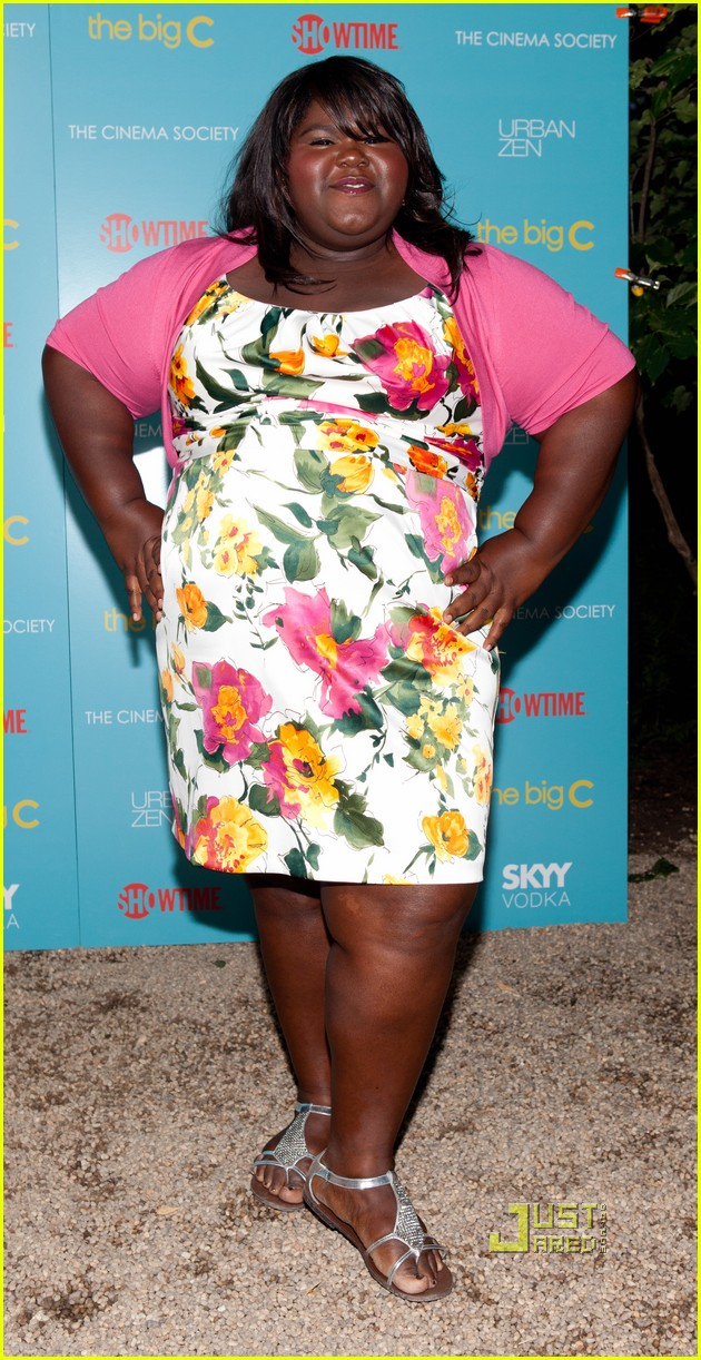 gabourey sidibe the big c screeening 04